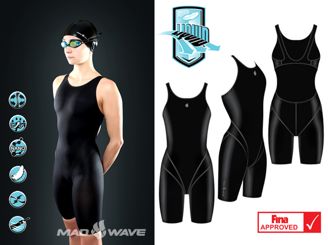 Гидрокостюм MW LIQUID women Short Leg Fina Appr Черный