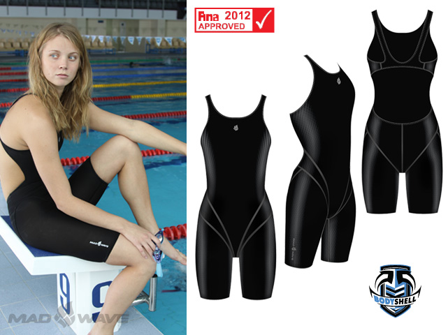 Гидрокостюм Bodyshell Women Short Leg Fina Appr Черный
